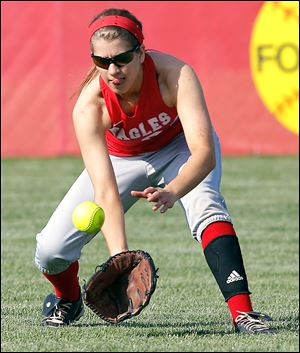 Eastwood's Ally Gabel, a senior, is second on the team with a .432 batting average.