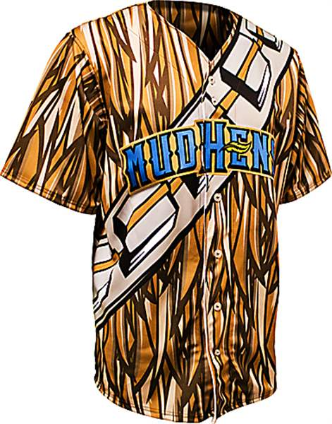 Star-Wars-Chewbacca-Mud-Hens-jersey