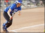 Pinch-hitter Paige LaPoint's suicide-squeeze bunt in the bottom of the sixth inning gave fifth-ranked Springfield another run late during a 5-3 victory against Perrysburg on Thursday.