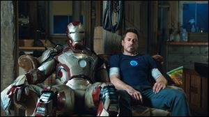 Robert Downey Jr. as Tony Stark in a scene from