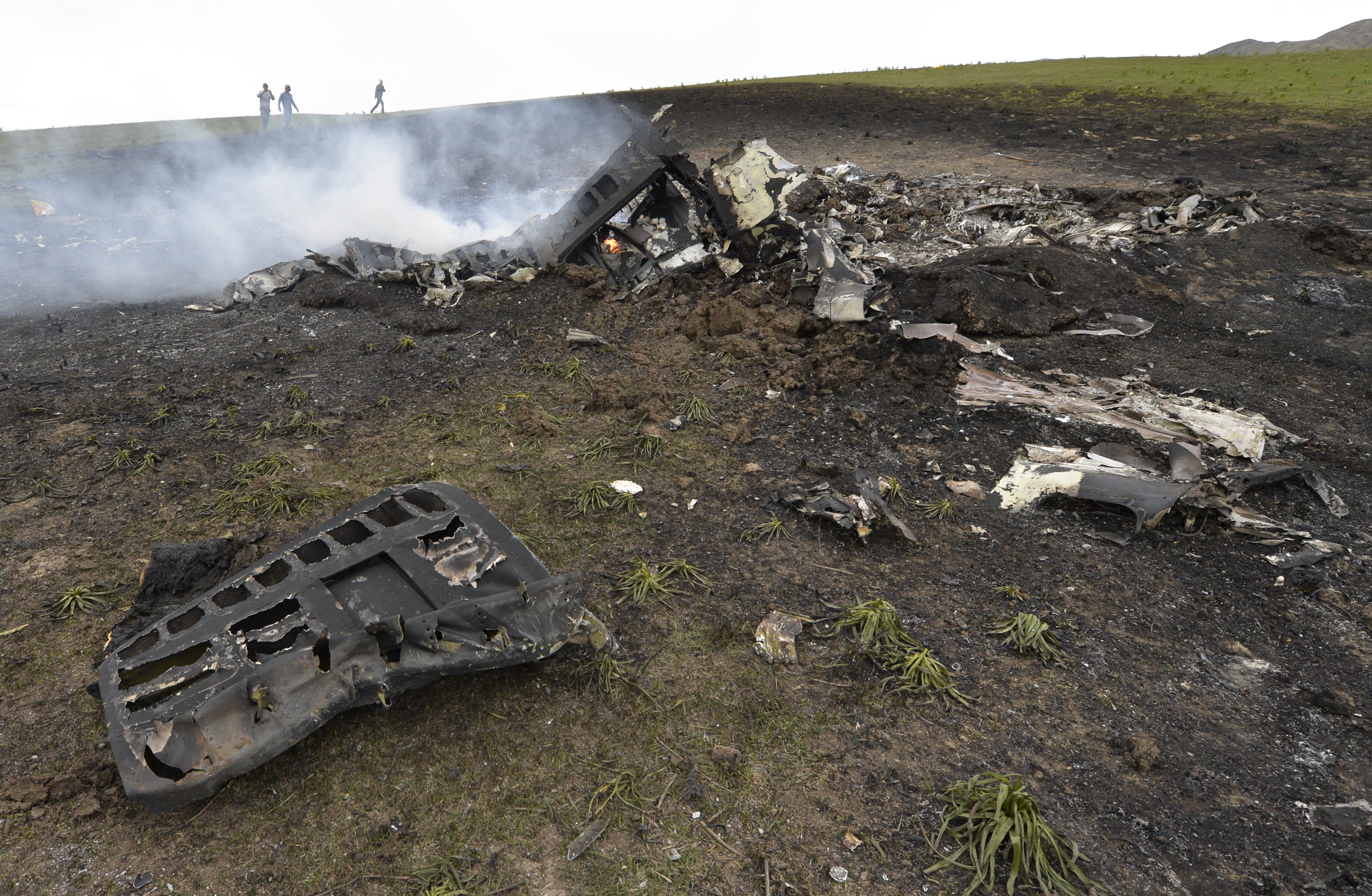 U S Military Tanker Plane Crashes In Kyrgyzstan S