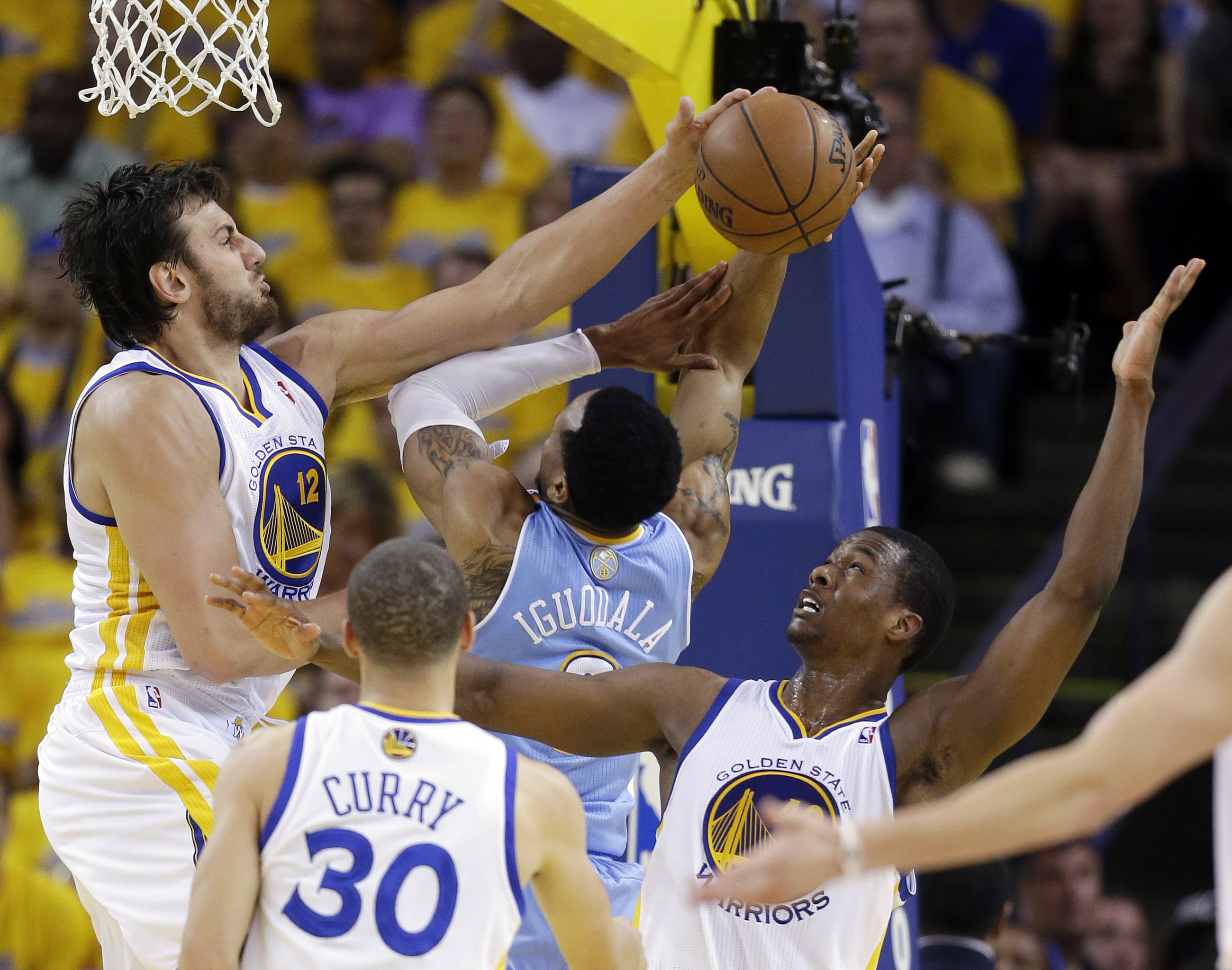 Warriors eliminate Denver with 92-88 win in Game 6 - The Blade