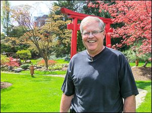 Rod Noble, executive director of Schedel Arboretum and Gardens in Elmore, oversees a 17-acre site filled with mag­no­lia, dog­wood, and cherry trees. The grounds will host its Meet the Art­ists Com­mu­nity Day, a free event for the public, from 10 a.m. to 2 p.m. Saturday.
