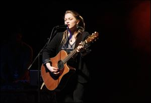Crystal Bowersox performs at the SeaGate on March 3, 2013.