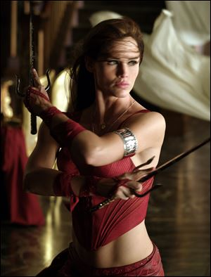 Jennifer Garner starred as Elektra, a warrior who stands in the center of the ultimate battle between good and evil in 'Elektra.'