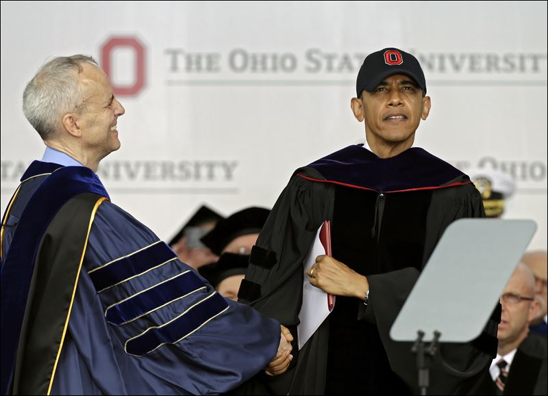 The Toledo Blade: President Obama Commencement Address