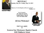 Baptist Ministers Conference of Toledo & Vicinity Revival