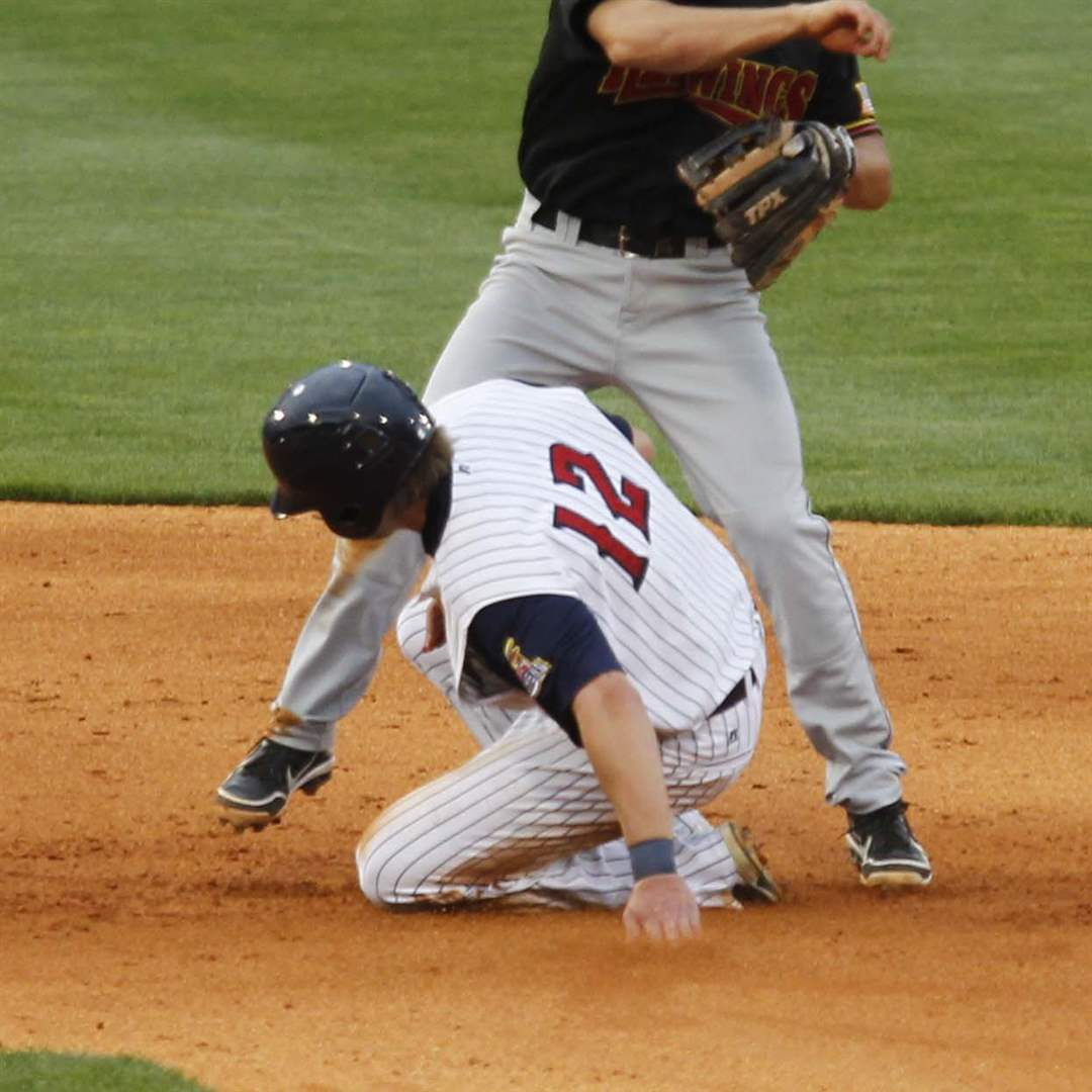 Rochester-Mud-Hens-double-play