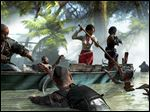 A screen shot from Dead Island: Riptide.