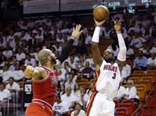 Bulls-Heat-Basketball-Wade
