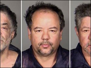 From left, Onil Castro, Ariel Castro, and Pedro Casto.The three brothers were arrested Tuesday, after three women who disappeared in Cleveland a decade ago were found safe Monday. The brothers are accused of holding the victims against their will.