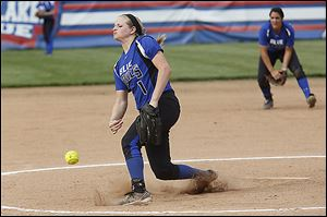 Springfield pitcher Bre Buck allowed just five hits in a victory over Southview. The Blue Devils are 20-3.