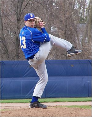 Findlay's Jimmy Orwick recently suffered an elbow injury. He has a career ERA of 1.77 and has 148 strikeouts in 101 innings. His career batting average is .355.