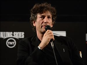 The idea of creating a memorable monster for 'Doctor Who' lured Neil Gaiman to the television series.