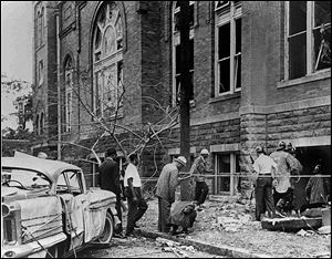 The Sept. 15, 1963, bombing of the 16th Street Baptist Church in Birmingham, Ala., killed four young girls. The site was designated a national historic landmark in 2006.