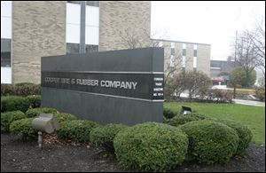 Cooper Tire and Rubber Company headquarters in Findlay, Ohio.