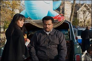 Kerry Washington, left, as Grace Peeples and Craig Robinson as Wade Walker in a scene from the film, Tyler Perry Presents