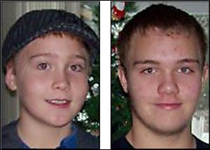 Blaine Romes, 14, and Blake Romes, 17, of Ottawa, Ohio, were killed after getting into a fight with Michael Fay.