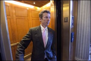 Sen. Rand Paul says he's only