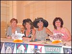 Derby Party Planning Committee members from Left to Right: Jackie Toth, Cindy Beaker, Josie Guenther, and Alissa Meyer.