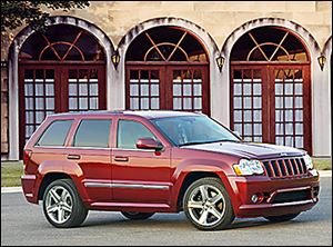 The 2008 Jeep Grand Cherokee