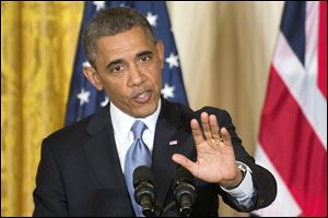 President Barack Obama said he is not trying to cover-up information about the attack in Tripoli last fall.