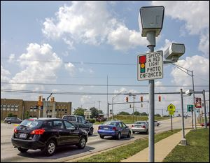 Northwood has collected $1,025,259.67 since two cameras went into service in 2005. The cameras are still working but the city's contract with Redflex Traffic Systems expired on April 23.