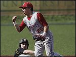St. Francis' Eric Zmuda finished with three hits and four RBIs to help beat Northview.