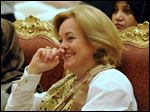 Then-U.S. Ambassador to Kuwait Deborah Jones is seen in Kuwait City in 2010. The Senate Foreign Relations Committee has approved her to serve as U.S. ambassador to Libya.