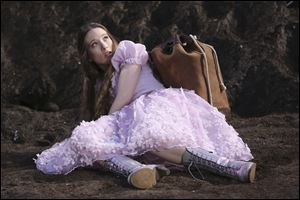 "Sophie Lowe in a scene from ""Once Upon a Time in Wonderland,"" a new spin off series from ""Once Upon a Time,"" premiering as part of the fall 2013 line-up on ABC."