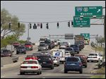 To reduce congestion, the Ohio Department of Transportation plans a median down Central Avenue at I-475/U.S. 23.