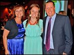 Kelsey Stickley with and her mother, Janel Zbierajewski Spychala, and father, Heath Stickley.