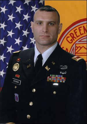 Joseph T. Bergman, Jr., 29, of Genoa is an Army Reservist.