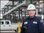 Jon Parker is the assistant chief of the emergency response team at the Oregon refinery. He is prominently featured in a national television ad campaign touting BP's commitment to safety.
