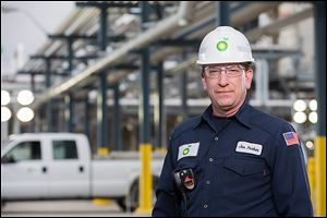 Jon Parker is the assistant chief of the emergency response team at the Oregon refinery. He is prominently featured in a national television ad campaign tou