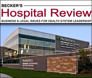 Chicago-based Becker's Hospital Review and Becker's ASC Review named