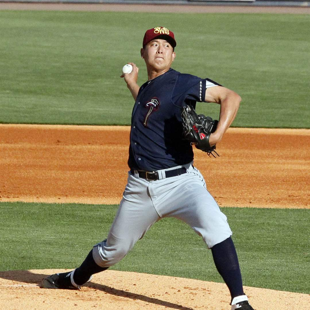 Scranton-W-B-RailRiders-pitcher-Chien-MingWang-throws