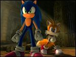 This image from video, courtesy of game publisher Sega, shows Sonic, left, and sidekick, Tails, in the new video game