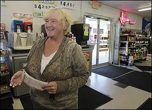 Retired Spanish teacher Rose Corcoran-Smith says she will fly her friends to Spain and set up a college fund for her great-grandson if she wins the Powerball.