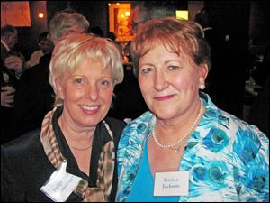 Judith Lanzinger and Louise Jackson, law school classmates