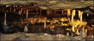 Ohio Caverns in Champaign County.