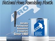 Celebrate May with a Remodeler from PRO