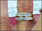 These rings were among the stolen items taken May 18, 2013, during a fatal Waterville Township home invasion.