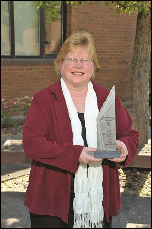 Pamela Hayman-Weaner was given a Making a Difference award from Northwest State Community College.