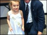 Miss Poppy and Sylvania Mayor Craig Stough.