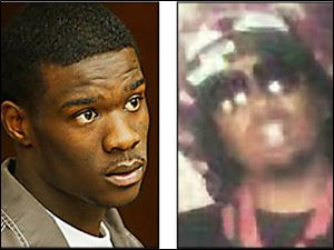 Quincy Allen, left, 21, a member of a Folks gang, is charged with the murder of LaQuan Dunbar.