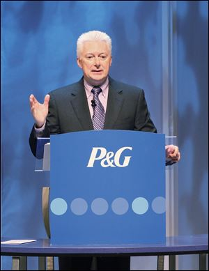 The Cincinnati company said late Thursday that former CEO A.G. Lafley, a 33-year industry veteran, is returning its top post.