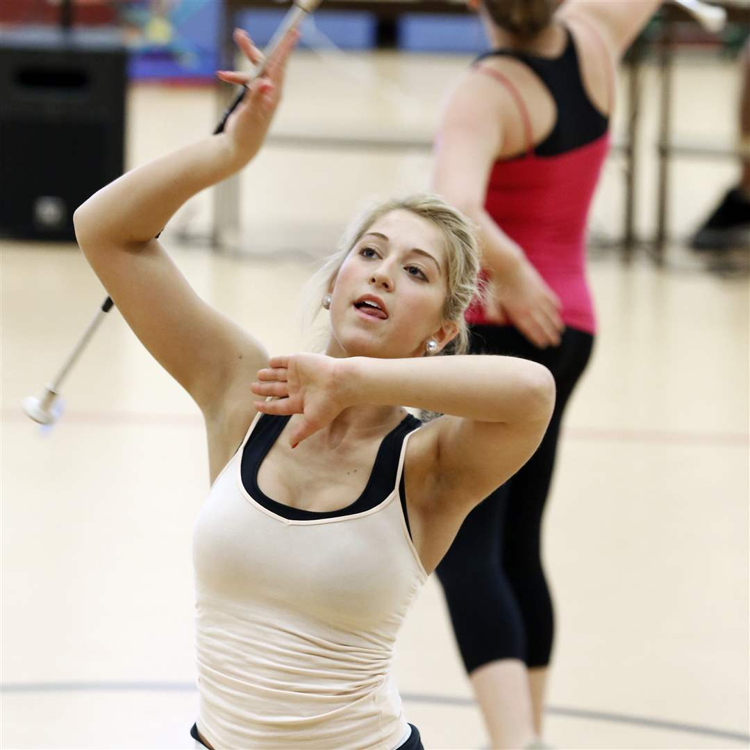 Suzy-Carter-17-of-Perrysburg-practices-twirling
