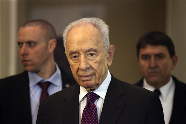 Obama praises Peres for advancing goodwill