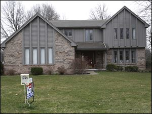 Home prices in suburbs, such as this one in Sylvania, are rising faster than those in Toledo, Realtors say.